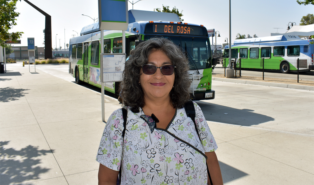 Inland Empire Commuter Chooses Public Transit Over Car
