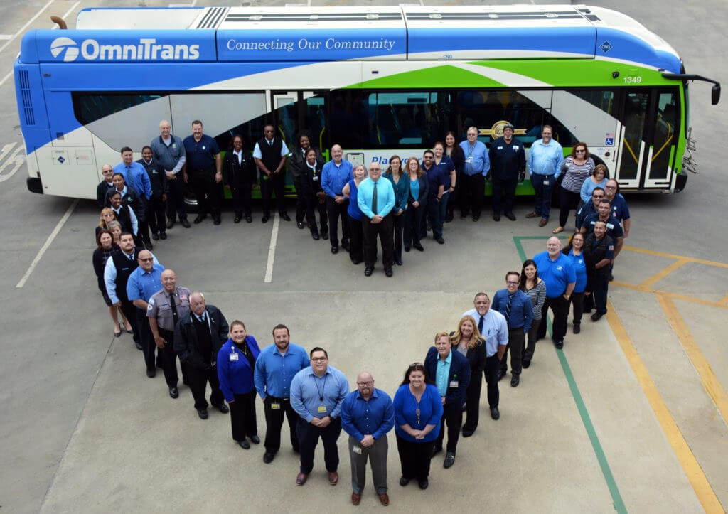 #WearBlueDay: Omnitrans Supports National Human Trafficking Awareness Day