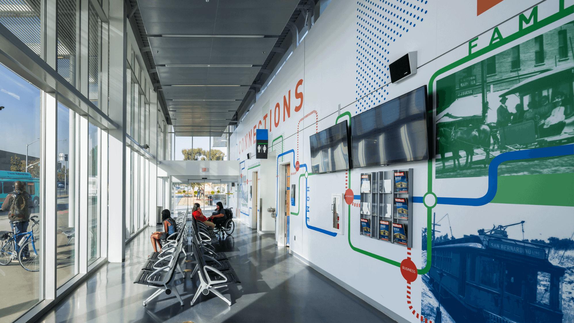Image of San Bernardino Transit Center interior