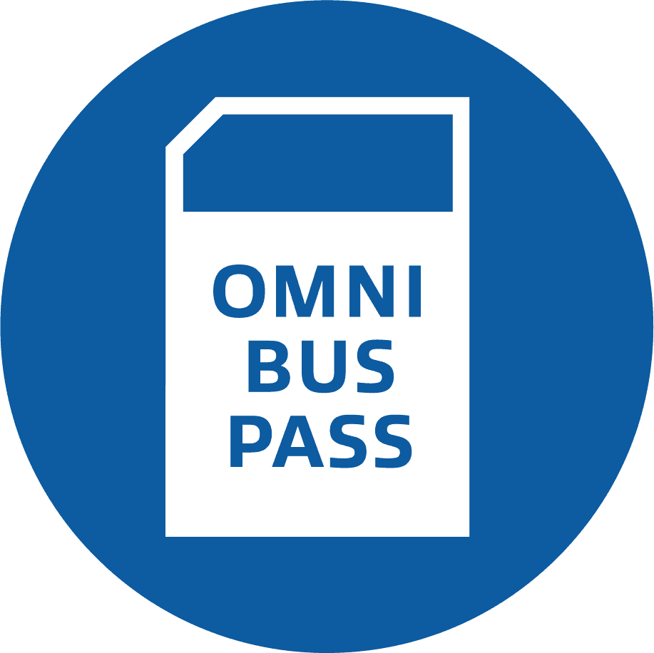 Omni bus pass icon