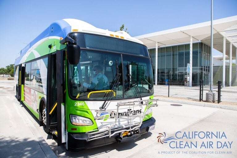 Omnitrans Offers Free Rides on California Clean Air Day!