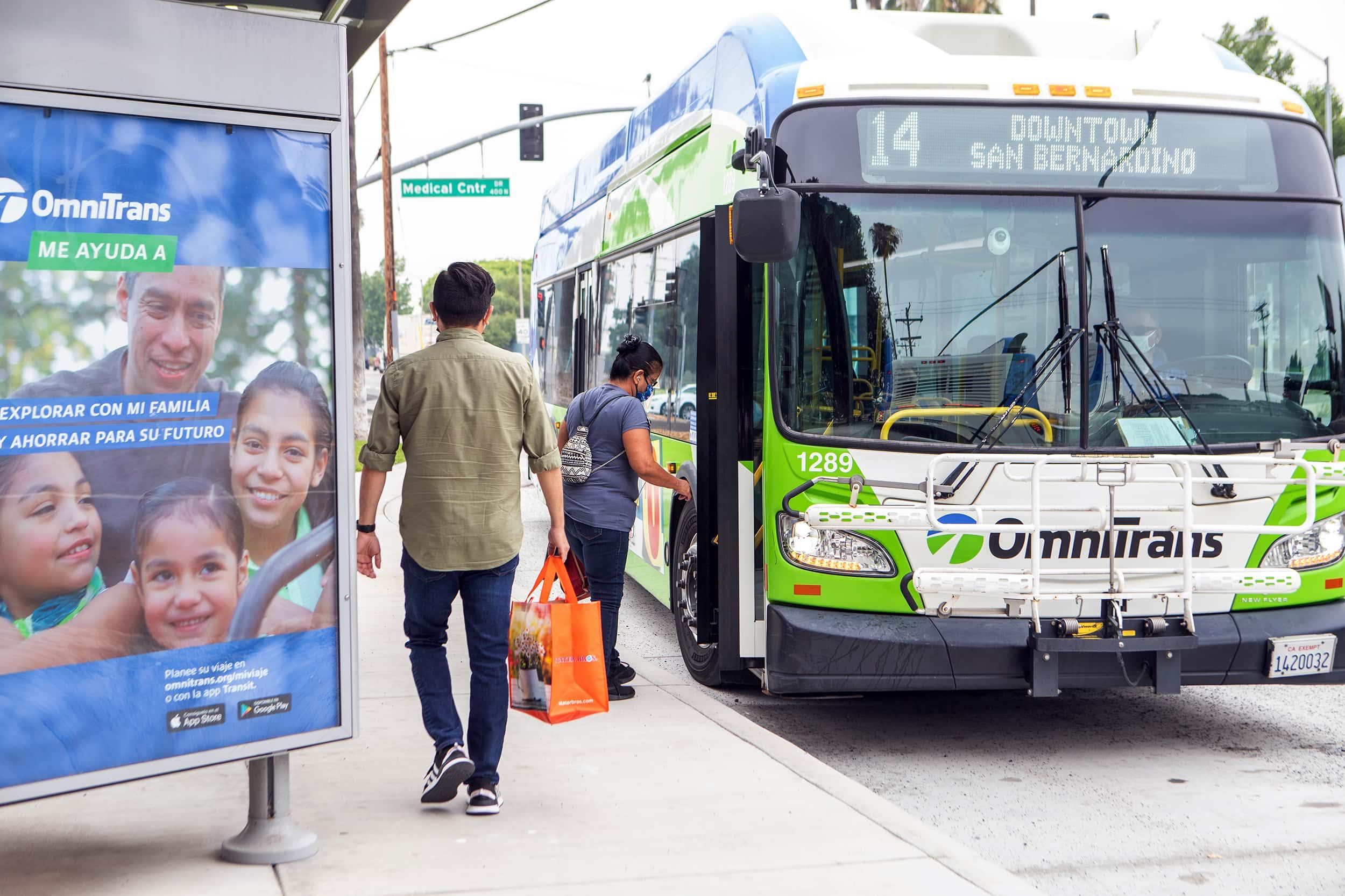 Help Omnitrans Create a Bus Stop Safety Improvement Plan