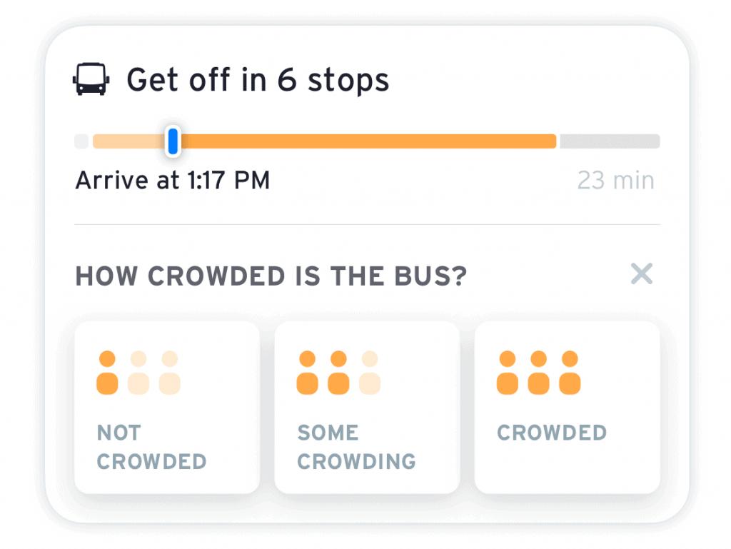 bus crowding question