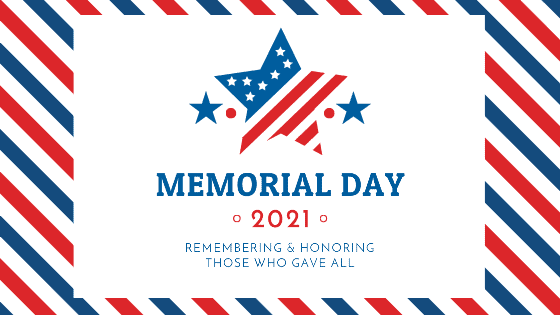 Buses not in service on Memorial Day 2021