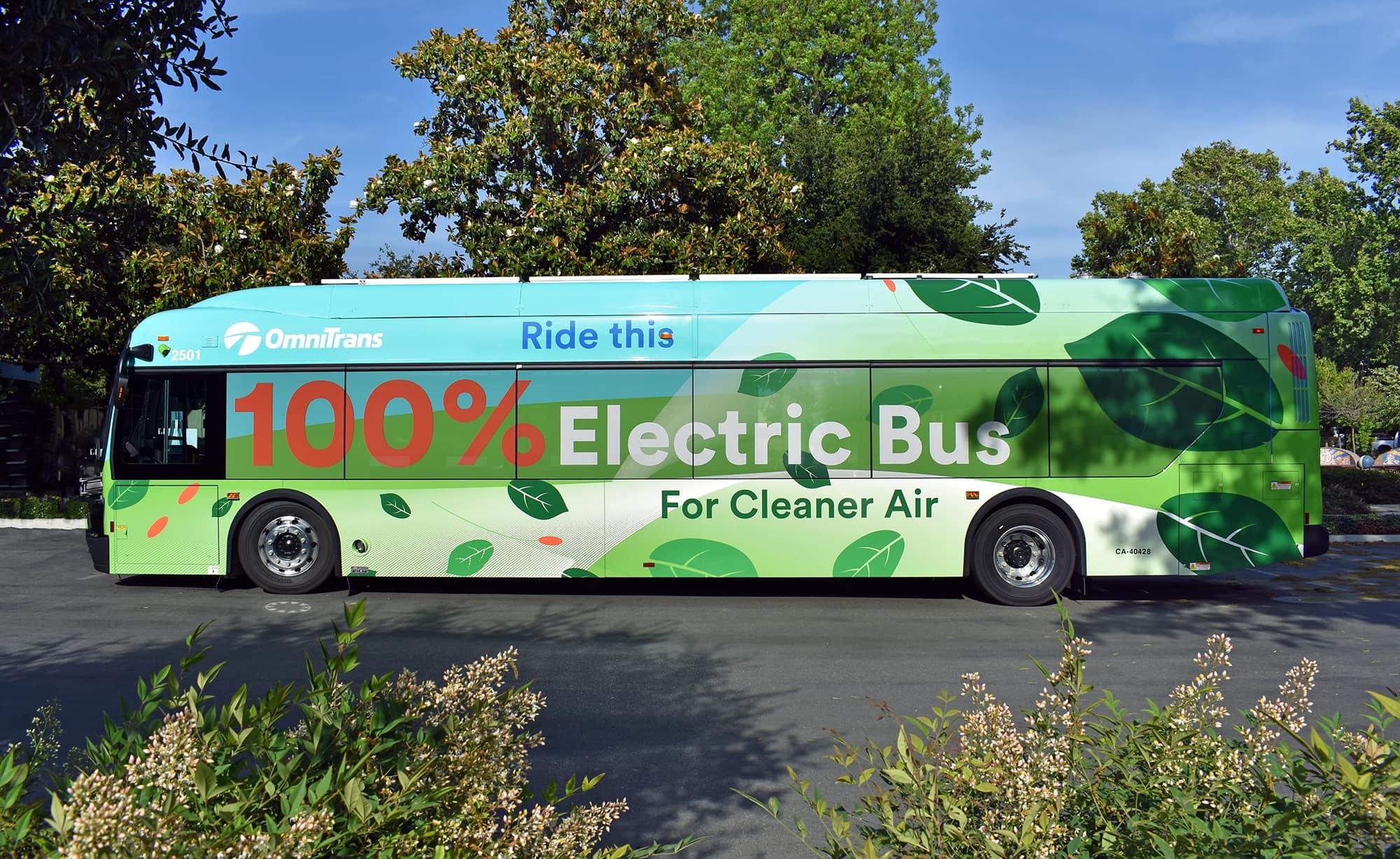 Electric bus image