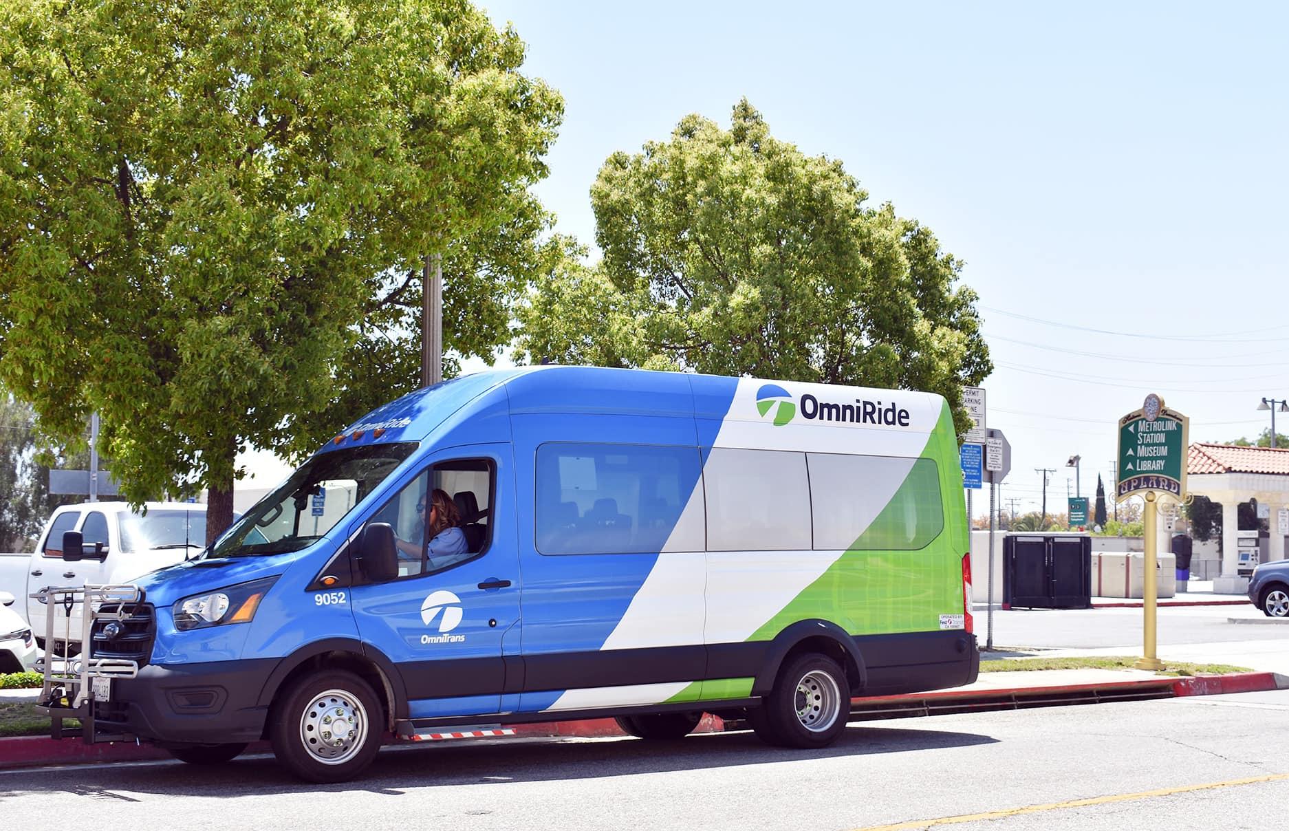 Get to Know OmniRide Upland, New On-Demand Transit Service!